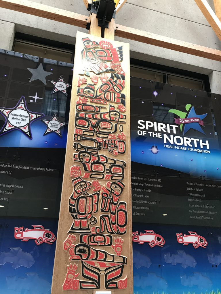 University Hospital of Northern BC Spirit of the North Healthcare Foundation artwork
